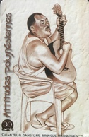 POLYNESIE FRANCAISE  -  PhoneCard  - Chanteur Dans Une Bringue Marquisienne  -  30 Unités  -  PF 98 - Frans-Polynesië