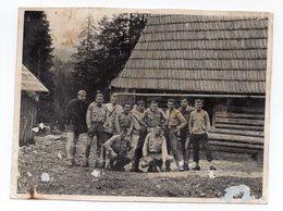 1950s YUGOSLAVIA,SCOUTS,MOUNTAIN HOUSE,SNAPSHOT,PHOTOGRAPH - Movimiento Scout