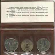 Yugoslavia 1975/83. Coin Set - Yougoslavie