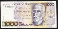 BRAZIL   P213b   1000 CRUZADOS  1988 Signature 26   UNC. - Brazil