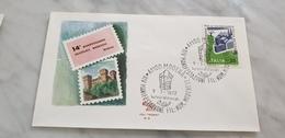 1972 Modena POZZO SECCHIO BUCKET WELL Filatelico Esposizione Filatelica E Numismatica Mostra Expo Annullo - Briefmarken