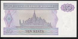 MYANMAR   P71b  10  KYATS  1997 #AL     UNC. - Myanmar