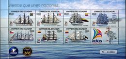 Equateur Ecuador 2553/59 Voiliers - Bateaux