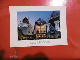 Sevilla Expo'92 - Pabellones De Tailandia, Singapur Y Malasia,  Format: 170mm Sur 120mm - Sevilla