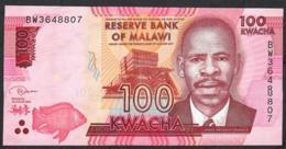 MALAWI P65c 100 KWACHA  1..1.2017   #BW    UNC - Malawi