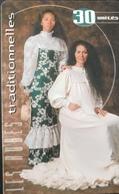 POLYNESIE FRANCAISE  -  PhoneCard  - Robes, Traditionnelles -  Tiare  -  30 Unités  - PF 102 - Frans-Polynesië
