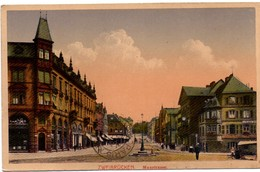 Zweibrücken - Maxstrasse 1926 - Verlag Emil Hartmann Strassburg - Zweibruecken