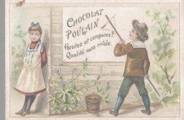 CHROMO CHOCOLAT POULAIN  COLLEUR D'AFFICHES - Poulain