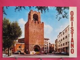 Italie - Sardaigne - Oristano - Piazza Roma - Torre Di S. Cristoforo - Recto-verso - Oristano
