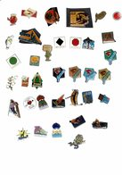Verzameling Pins - Badges