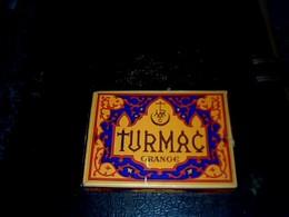 Turquie Publicité Paquet Vide En Carton De Cigarettes  Marque  Turmarc Orange - Autres