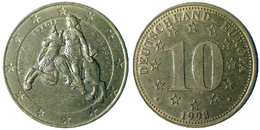 03376 GETTONE TOKEN JETON COMMEMORATIVE PRE EURO 10 DEUTSCHLAND EUROPA EUROPE 1998 - Zonder Classificatie