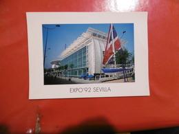 Sevilla Expo'92 - Pabellon Inglés  ,  Format: 170mm Sur 120mm - Sevilla