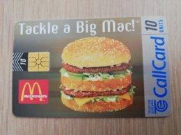 IRELAND /IERLANDE   CHIPCARD  10  UNITS     Big Mac! Mc Donalds      ** 2106** - Ierland