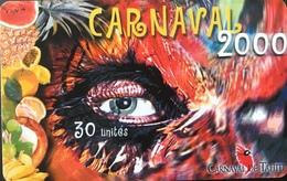 POLYNESIE FRANCAISE  -  PhoneCard  - Carnaval   -  30 Unités  - PF 104 - Frans-Polynesië