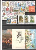 Année Complète 2005 Oblitéré / Complete Year Used ; YT 387 / 416 + BF 19 / 21 - Tchéquie