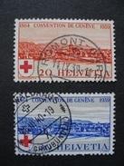1939 - Anniversaire De La Croix-rouge - Obl. - Svizzera
