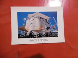 Sevilla Expo'92 - Pabellon Australiano  ,  Format: 170mm Sur 120mm - Sevilla