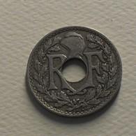 1923 - France - 10 CENTIMES, Lindauer, Cmes Non Souligné, Poissy, KM 866a, Gad 286 - D. 10 Centimes