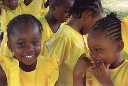 Guyana Children Rare London Charity Fundraising Poverty Awareness Postcard - Non Classés