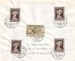 Lettre De Luxembourg: Cachet 20.12.1936 - Luxembourg