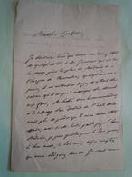Lettre Autographe François ANDRIEUX (1759-1833) POETE REVOLUTION Un 5 Nivôse - Autographs
