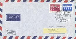 Germany Air Mail Cover First Lufthansa Flight LH 430 Boeing 747 München - Chicago 30-3-1986 - BRD
