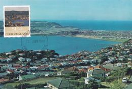 Wellington Airport New Zealand Postcard First Day Cover - Nouvelle-Zélande