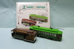 Classic Streetcars - TROLLEY TRAMWAY TRAM Desire St. 463 + San Francisco BO 1/87 - Locomotieven