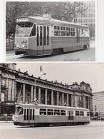 West Preston Melbourne Australia Tram 1970s 2x Official Photo S - Australie