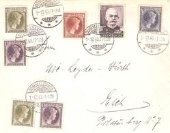 Lettre De Dommeldange Vers Eich 01.10.1940 - Luxembourg