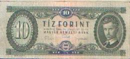 HONGRIE – 10 Forint 1969 - Hungría