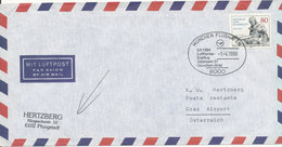 Germany Air Mail Cover First Lufthansa Flight LH 1384 Jetstream 31 München - Bangkok - München - Graz 1-4-1986 - BRD