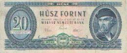 HONGRIE – 20 Forint 1969 - Hungría