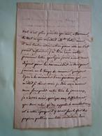 Lettre Autographe Pierre Edouard LEMONTEY (1762-1826) Homme Politique Historien - Autographs