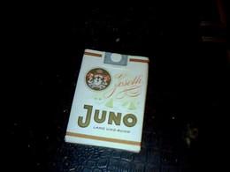 Allemagne Publicité Ancienne  Paquet Vide En Carton De Cigarettes Marque Juno  Joselli ( Hambourg) - Autres