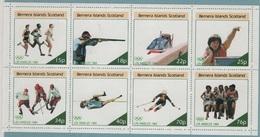 JO84-E/L5 - BERNERA ISLANDS SCOTLAND BF Neuf** Jeux Olympiques De 1984 - Local Issues