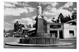 Addis Ababa - The Statue Of Abouna Petros - Circulé 1960 - Ethiopië