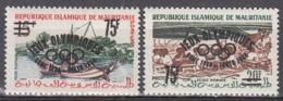 Mauritanie 154A à 154B ** - Mauretanien (1960-...)