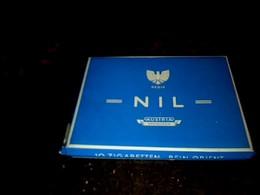 Autriche Publicité Ancienne  Paquet Vide En Carton De Cigarettes Marque Nil - Autres