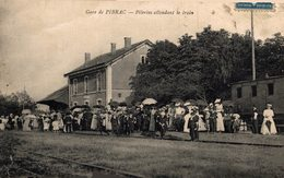 16936      PIBRAC  LA GARE  PELERINS ATTENDANT LE TRAIN - Pibrac