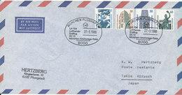 Germany Air Mail Cover First Lufthansa Flight LH 704 DC 10 München - Anchorage - Tokio 27-3-1988 - BRD