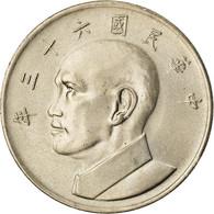 Monnaie, République De Chine, TAIWAN, 5 Yüan, 1974, SPL, Copper-nickel, KM:548 - Taiwan