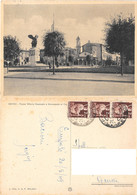 Empoli. Piazza Vittorio Emanuele E Monumento Ai Caduti. Viaggiata 1949 - Empoli