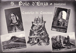 Cartolina - Vedute, Canossa, Castello. Reggio Emilia. - Reggio Nell'Emilia