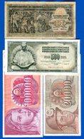 Yougoslaviie  9  Billets - Joegoslavië