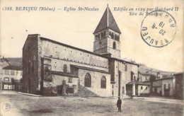 69 RHONE Place De L'Eglise Saint-Nicolas De BEAUJEU - Beaujeu