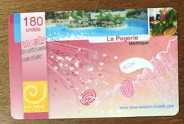 MARTINIQUE LA PAGERIE CARTE PASSMAN 180U WIFI WI FI INTERNET PRÉPAYÉE PREPAID PAS TÉLÉCARTE PHONECARD - Antilles (French)