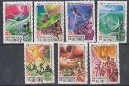 Guinée 1979 Jules Verne 7v Used (47758) - Guinea (1958-...)
