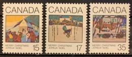 CANADA - MNH**  - 1980 - # 870/872 - 1952-.... Règne D'Elizabeth II